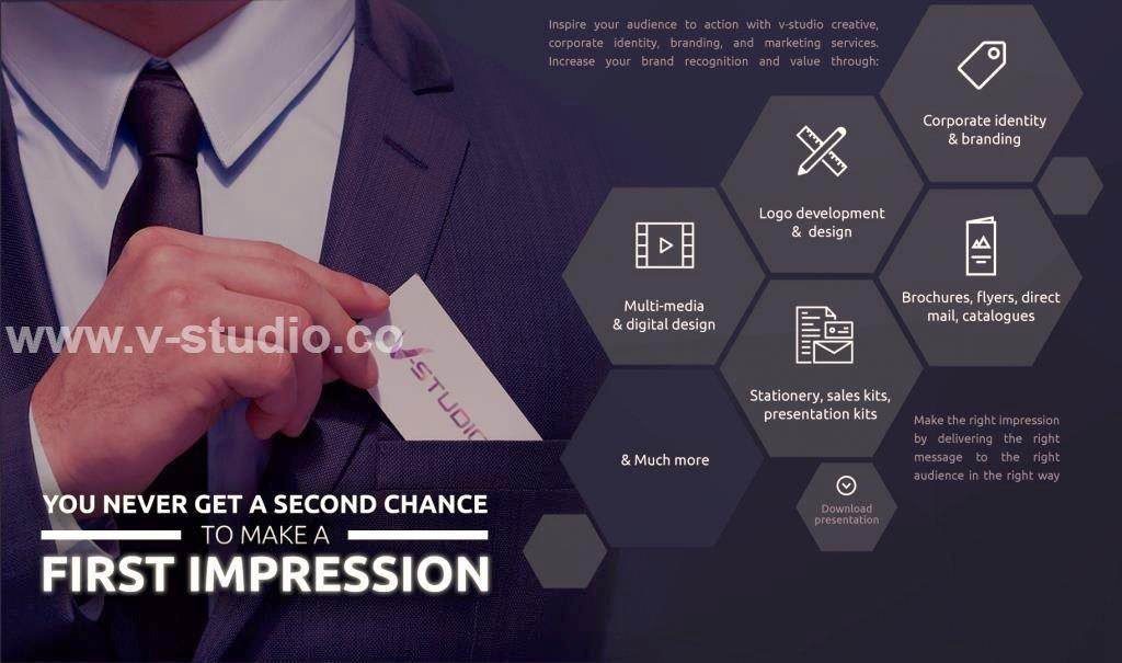 Creative And Corporate Identity Designs by V-Studio