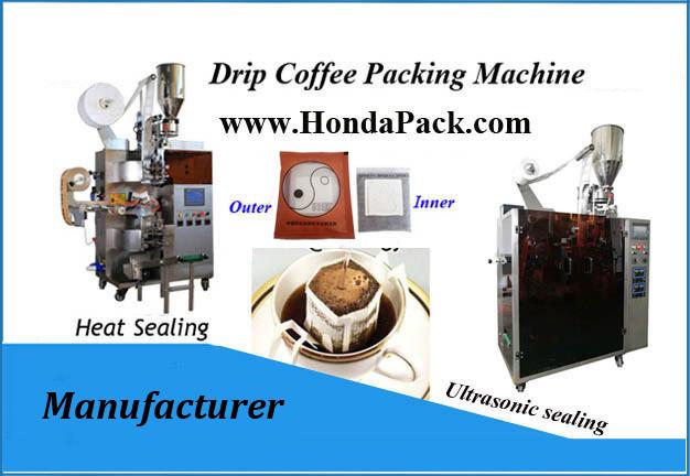 Singapore drip coffee bag packaging machine