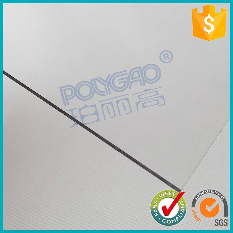 Bayer PC solid lexan transparent lowest polycarbonate panels