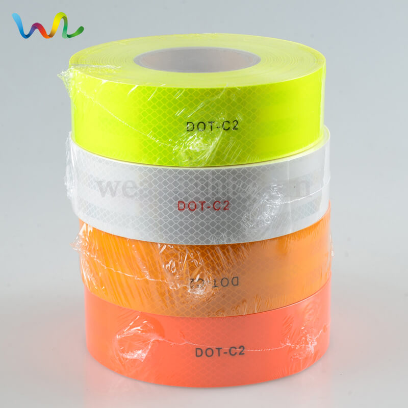 Reflective tape for trailers, yellow reflective tape, White Reflective Tape