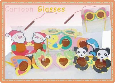 party glasses(cartoon glasses,cute glasses,eva  sunglasses)
