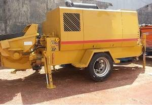 Used stationary concrete pump SUMAB P 90