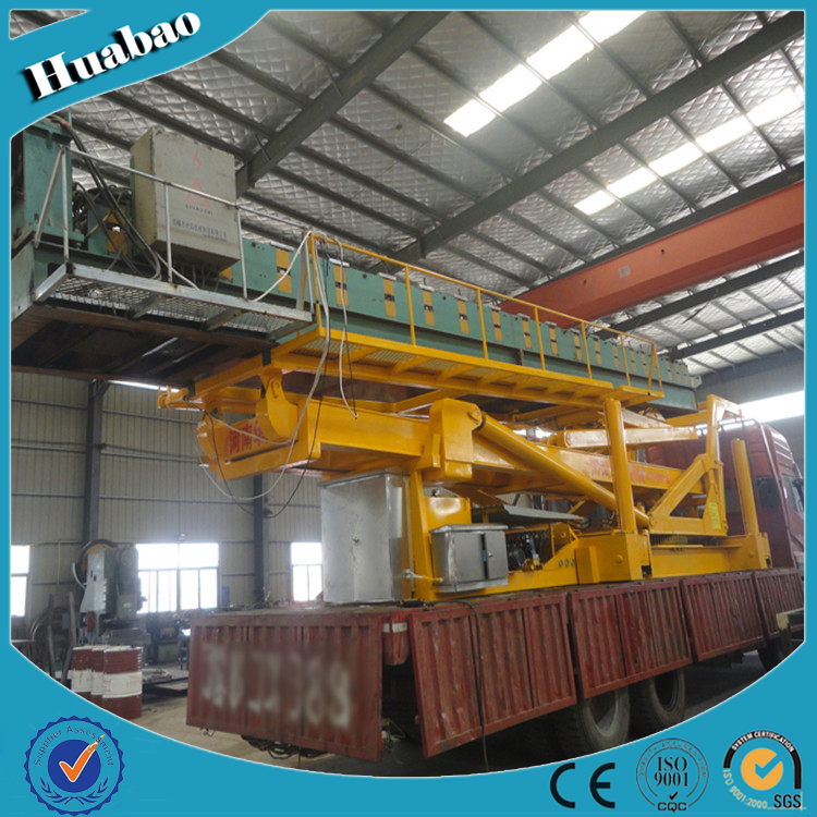 8T 16.5m high quality customized size mulitifunction hydraulic overhead crane