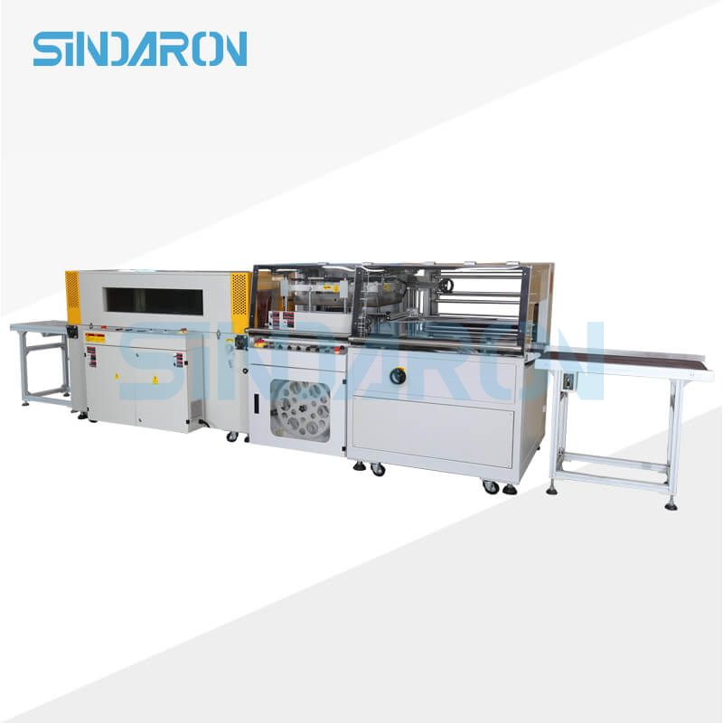 Fully Automatic L Bar Sealer Sealing Heat Shrink Shrinkable Shrinking Pack Package Packaging Wrap Wr