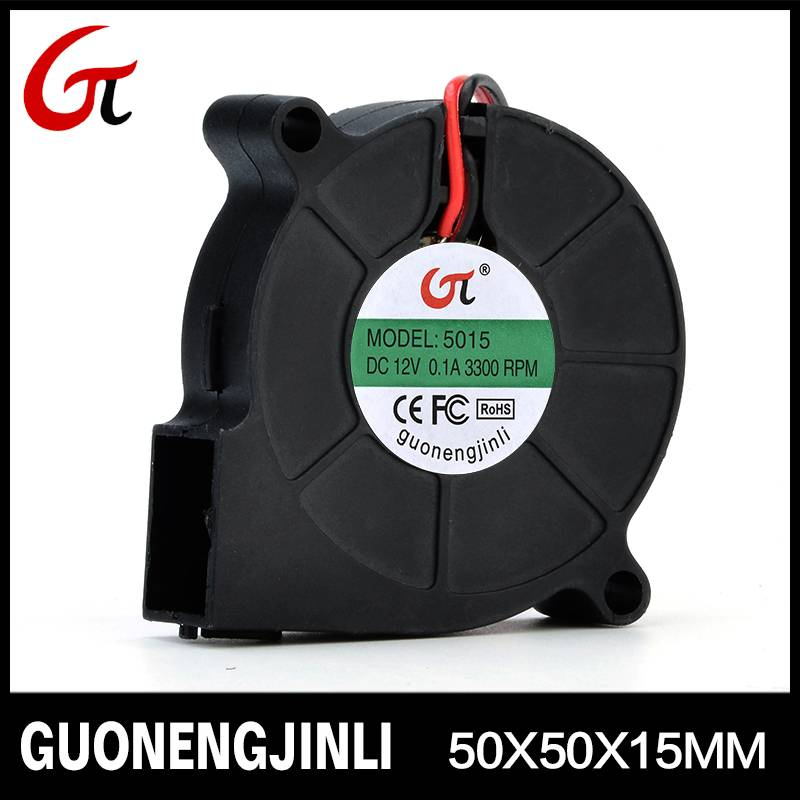 Manufacture selling 12V 5015 dc blower fan with large air flow for automobile cushion