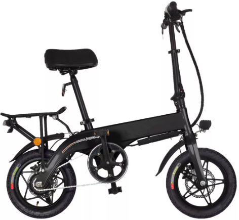 Simple Elegant Lithium Battery Integrated Electric Bicycle From China