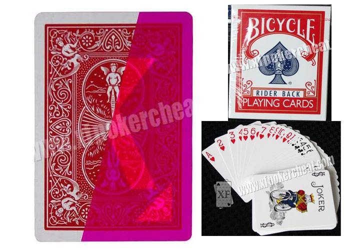 Playing cards Professional Magic Props USA Paper Bicycle Standard Marked