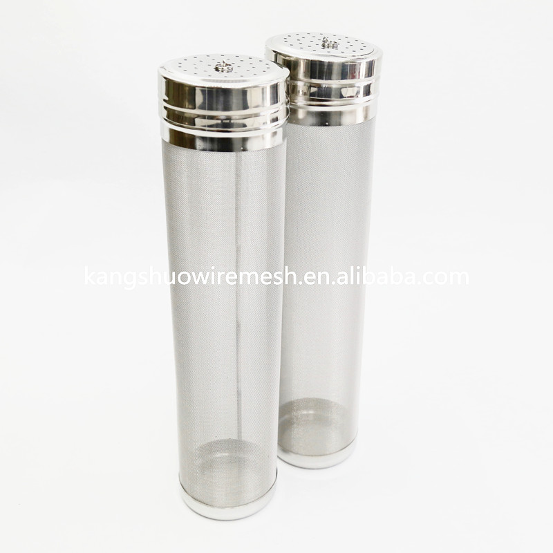 300 Micron Mesh Stainless Steel Homebrew Beer Dry Hopper Filter