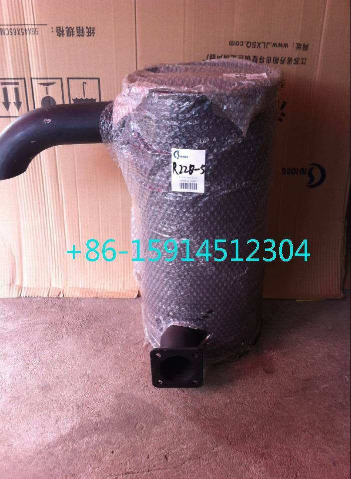 hyundai R220-5 muffler with clamp 3802358
