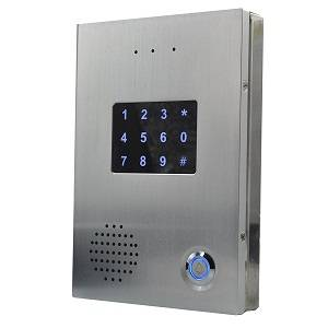 SIP door phone with RFID Card access control system
