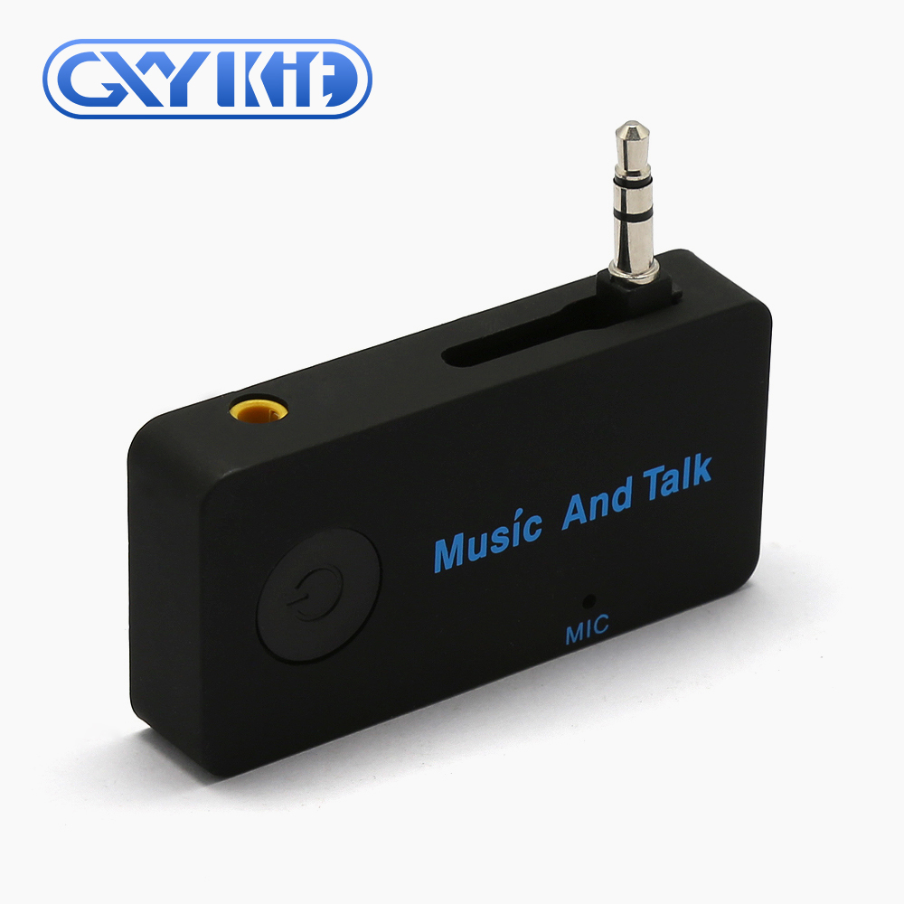 GXYKIT wireless bluetooth handsfree Mini Stereo Music Adapter H2 bluetooth receiver with microphone
