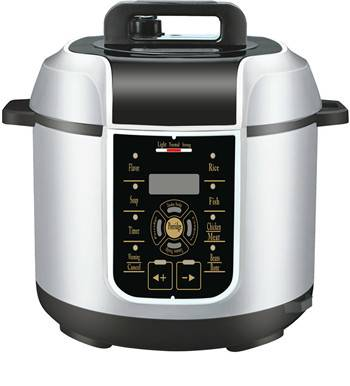 White Attractive Electric Pressure Cooker 5L for 5-8people Use (ZH-A509)