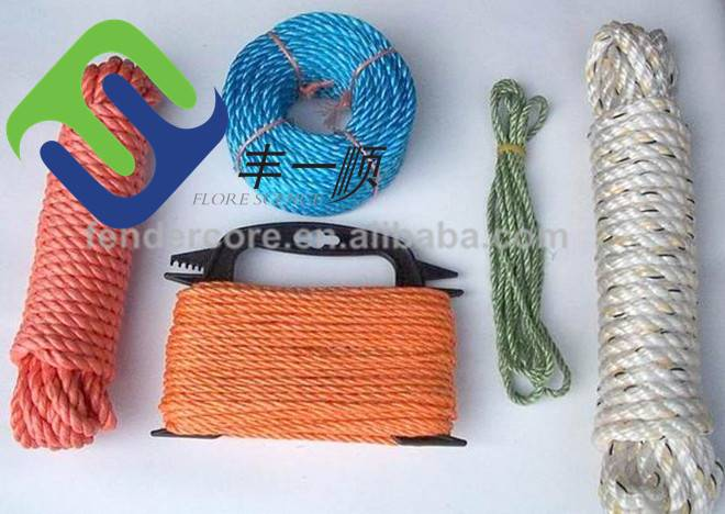 nylon rope /nylon twine /3mm-60mm size packing rope/china supplier
