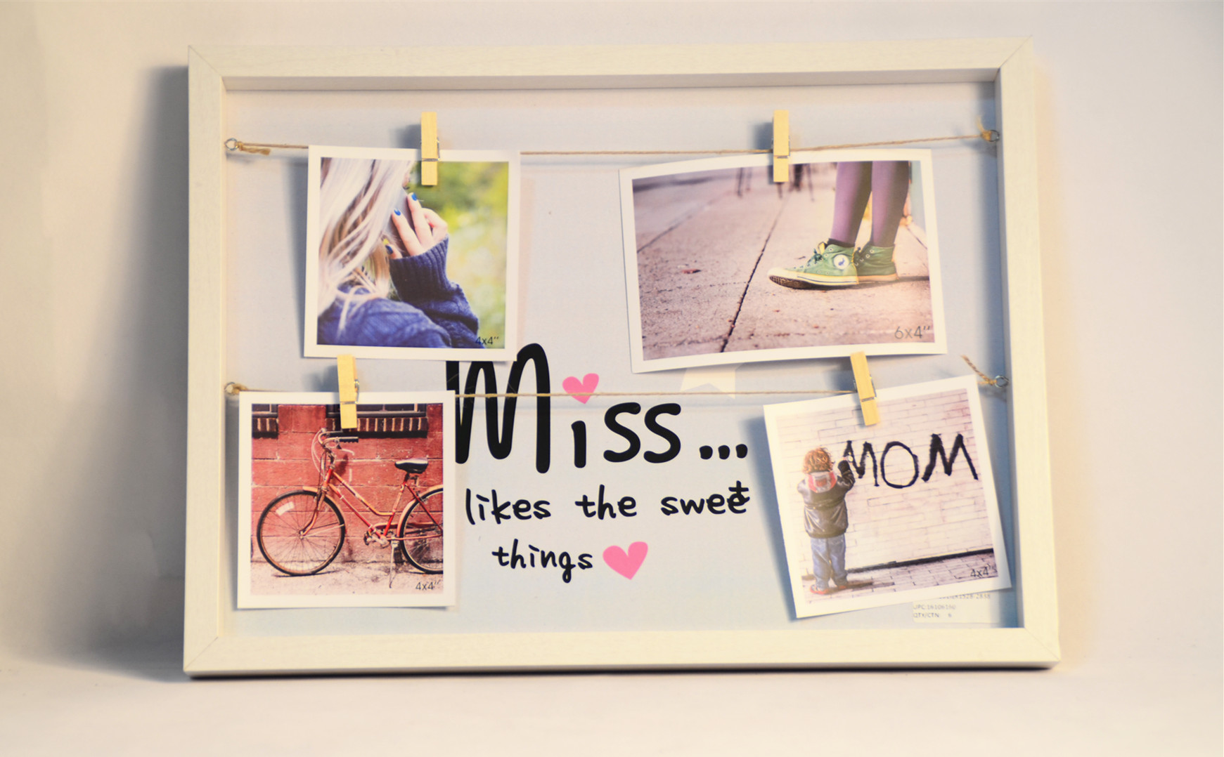 New and hot display MDF picture frame, for wall deco
