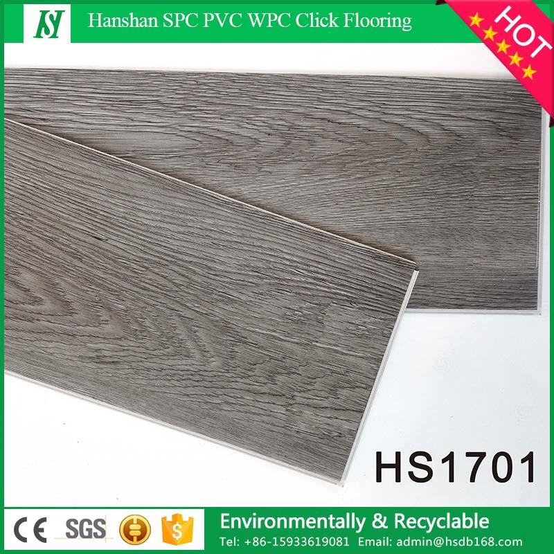 PVC Material and Simple Color Surface Treatment vinyl floor tile