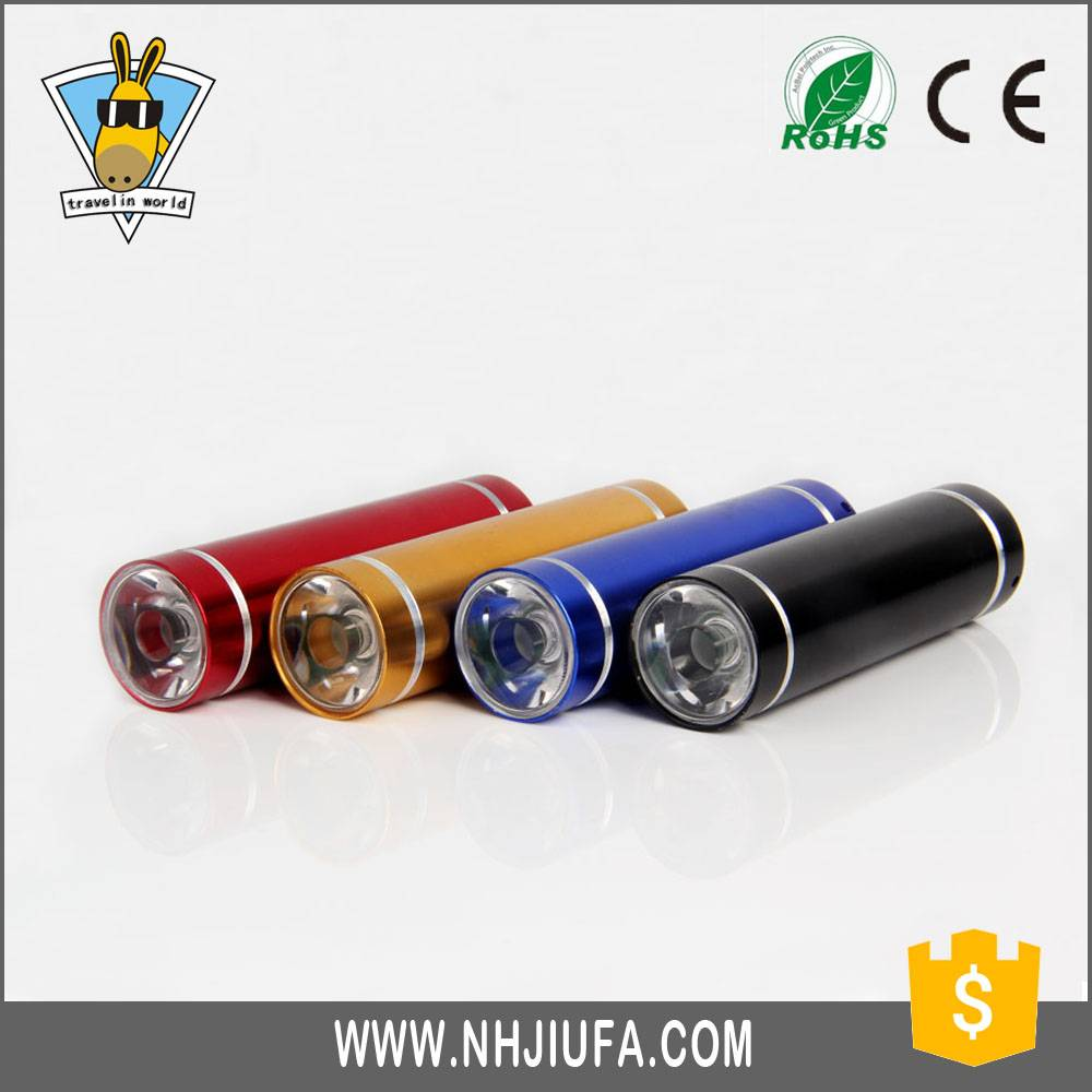 JF Top Quality Customized Promotion Aluminum Mini Led Flashlight,Colorful promotional small Flashlig