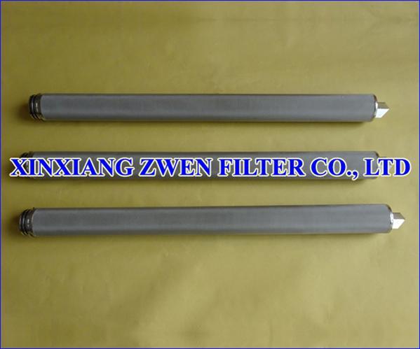Stainless Steel Sintered Filter Cartridge