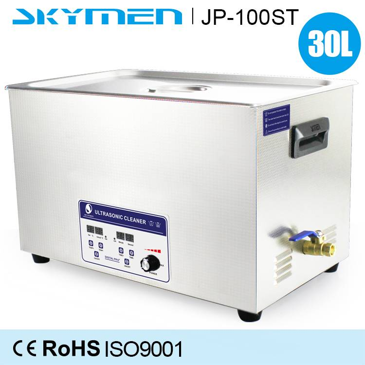 30L ultrasonic equipment for industrial and precision cleaning