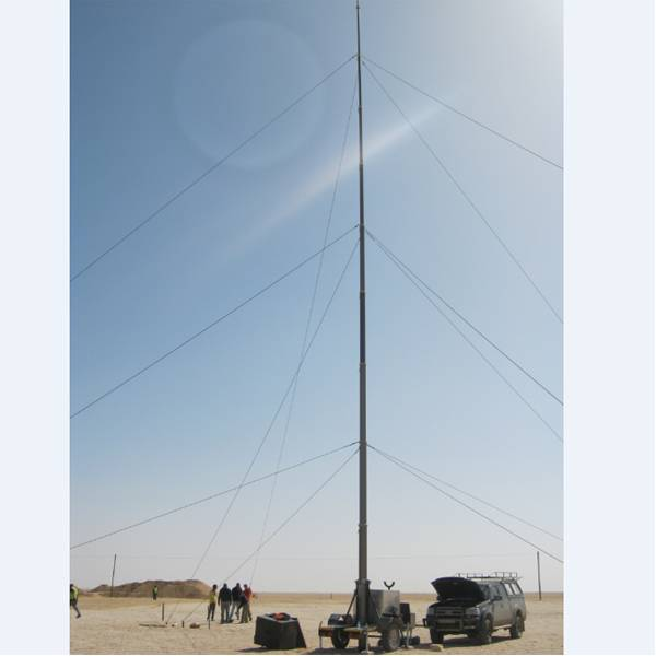 21m antenna pneumatic telescopic mast