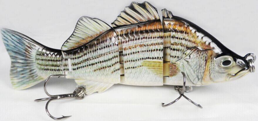 Bass 4 section wholesales price hard fishing lures