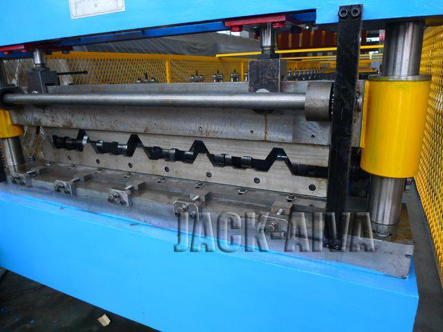 Single Layer Roofing Roll Forming Machine