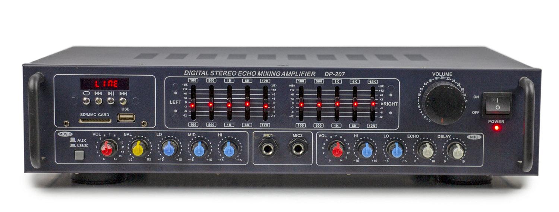 DP207 DIGITAL STEREO ECHO MIXING AMPLFIER