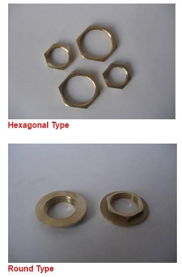 Brass clamp ring Hexagonal  or Round Type