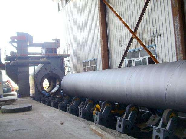 Hanging type Steel pipe surface shot blasting machine