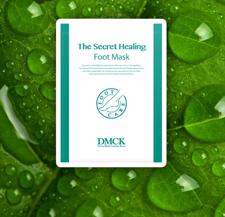DMCK The Secret Healing Foot Mask - moisturizing foot care