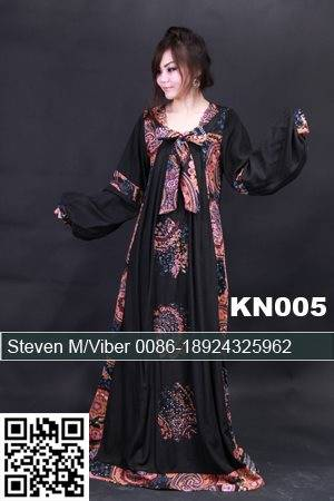 Cheap Black Chiffon Appliqued Beaded Kaftan Tunics Hijab