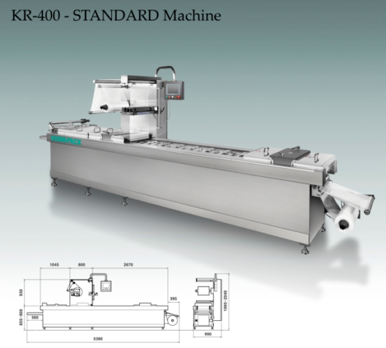 KR-400-STANDARD Machine