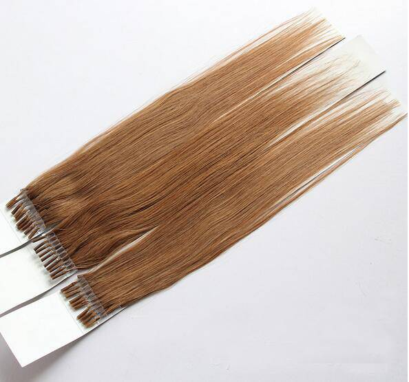 European Human Hair Extension Keratin Stick Hair Extension Prebonded Hair