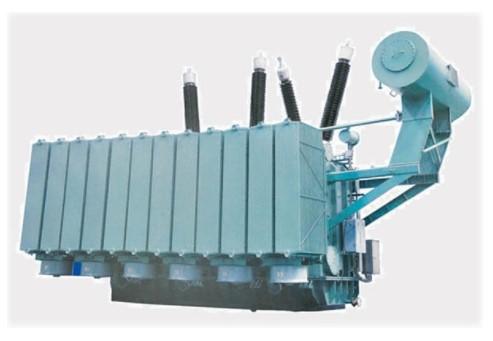 220kV three-phase oil immersed on-load voltage regulating transformer
