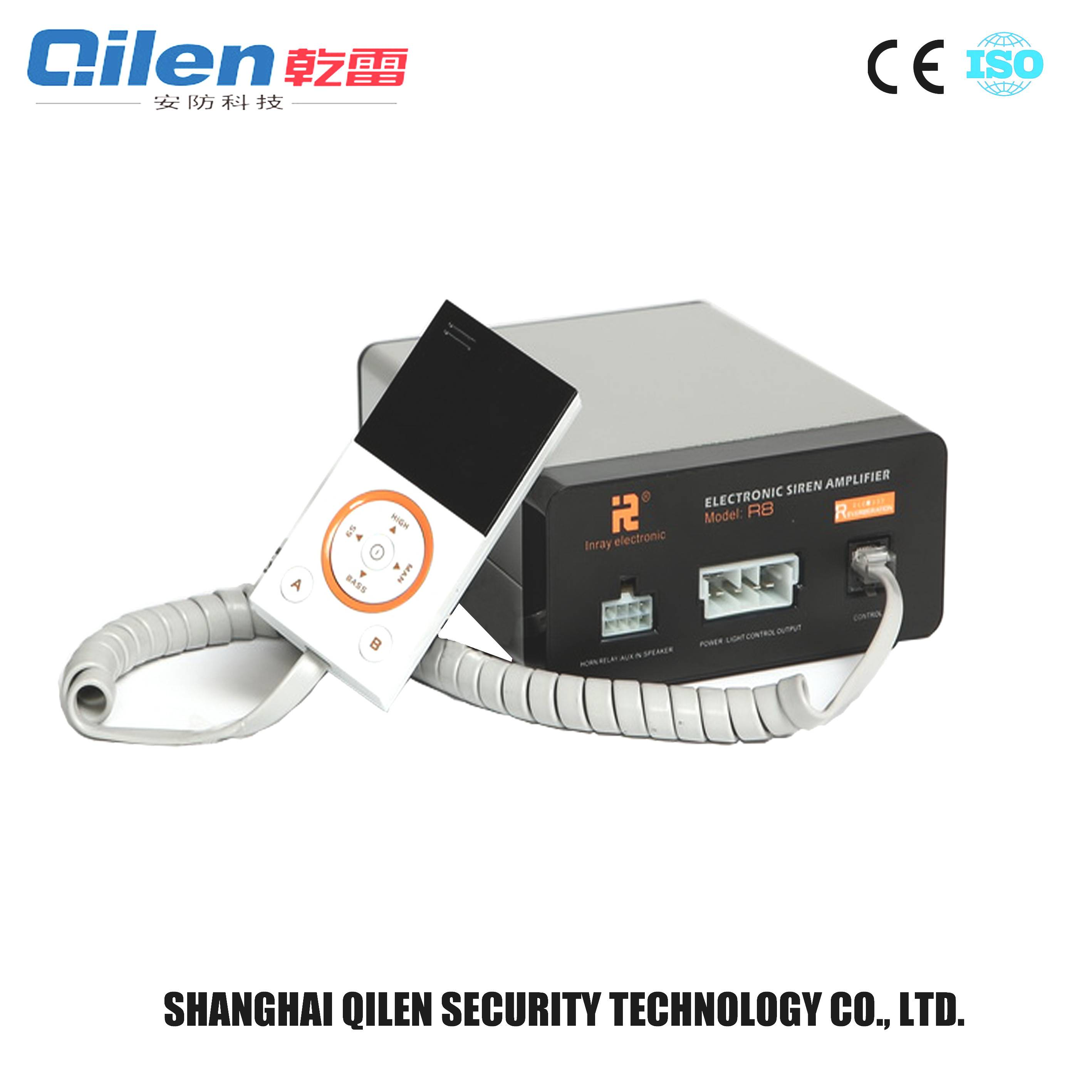 best selling products 600W 12v emergency use police siren amplifier
