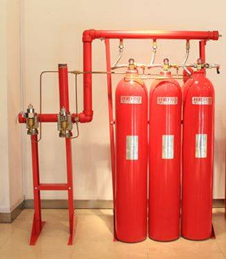 IG-541 fire extinguishing system