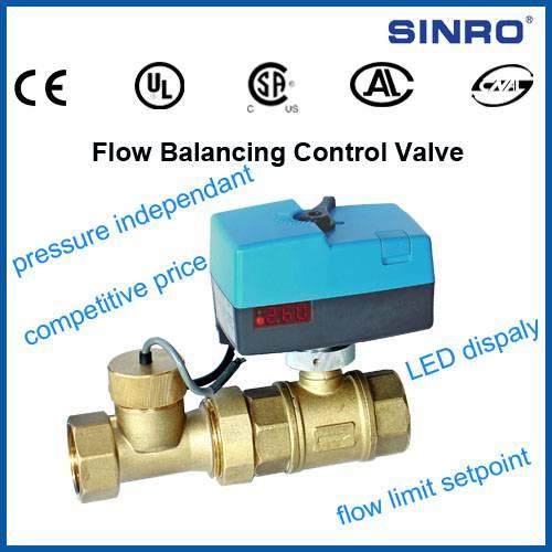 Flow Balancing Control Valve