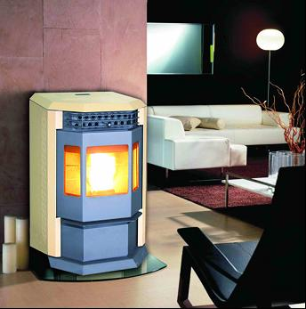 KJH-HP60 Pellet Stove with Remote Control