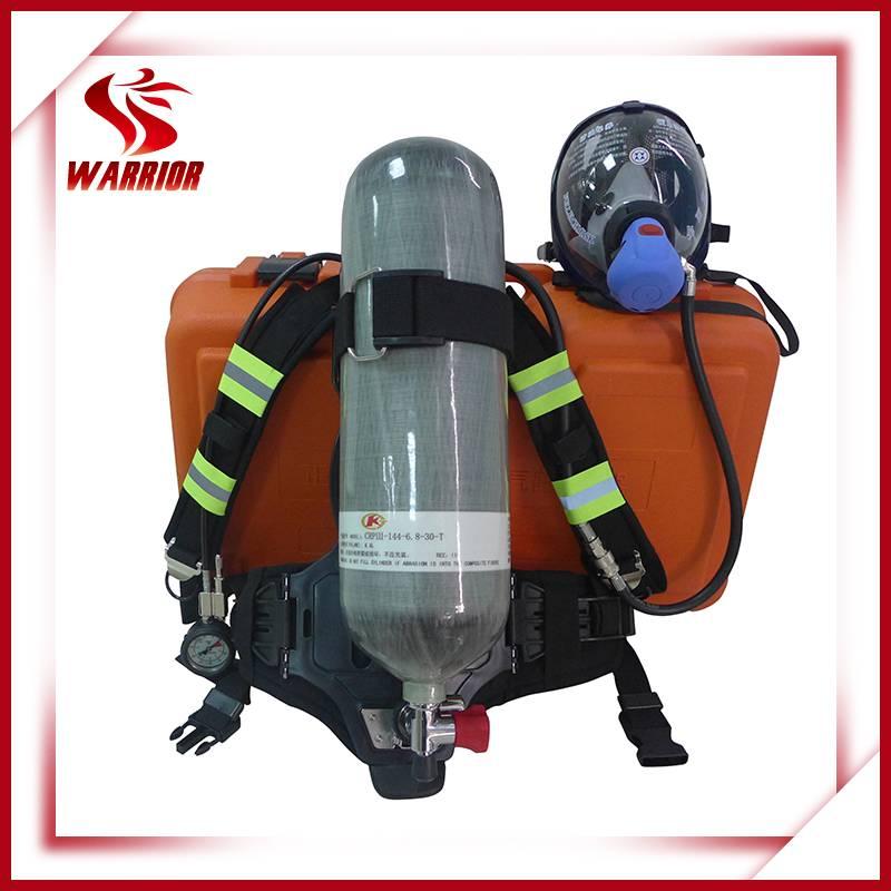 Portable self-rescue air breathing apparatus