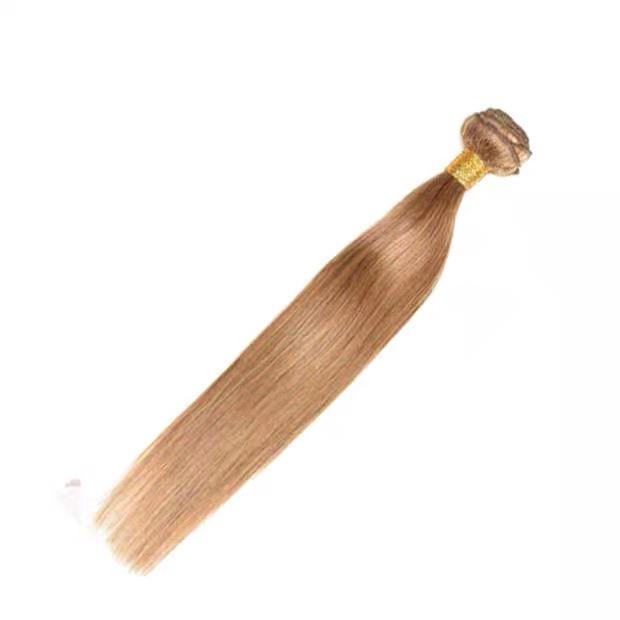 LEDON Hair Weft, Straight, color 27,100% Human Hair Extensions,100g, 1 Piece