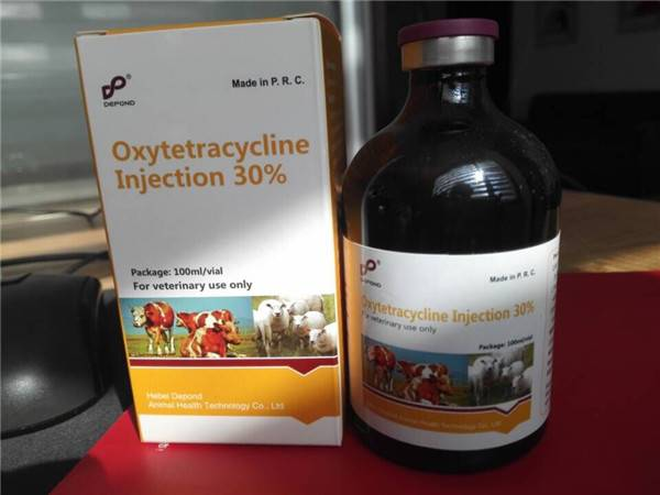 Oxytetracycline Injection 30% for Veterinary use only
