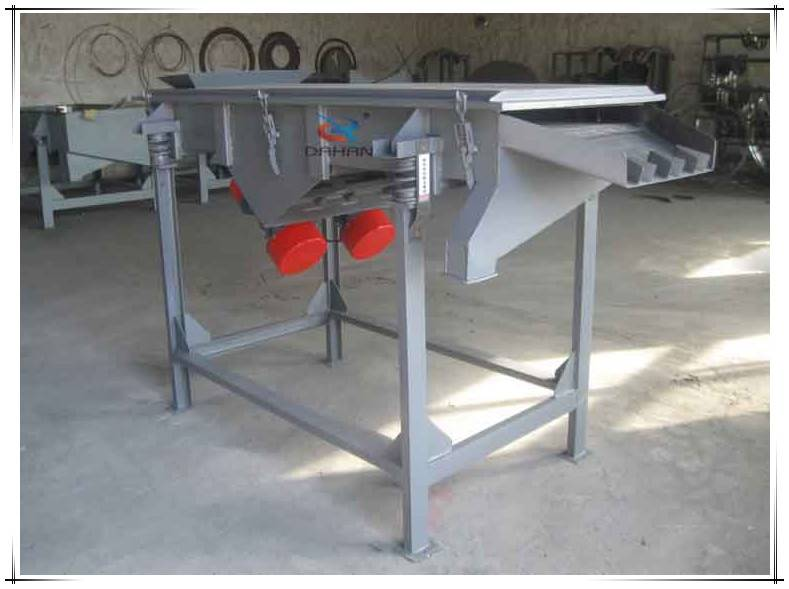 factory price linear vibrating classifier vibrator screen machine