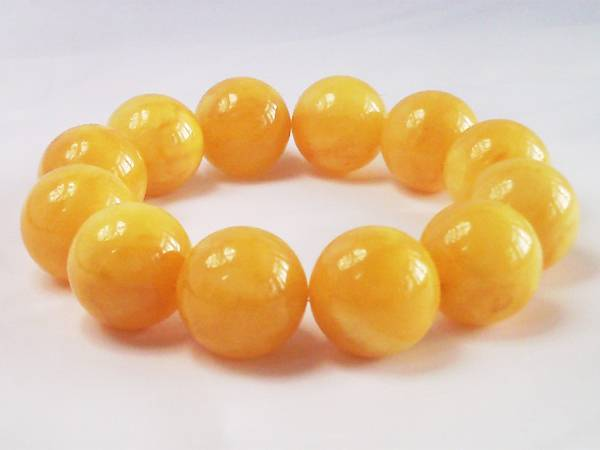 Amber bracelets Chinese honey