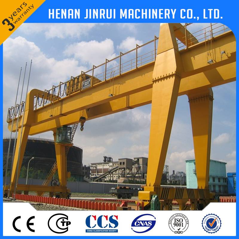 double girder gantry crane 5--500t from china factory