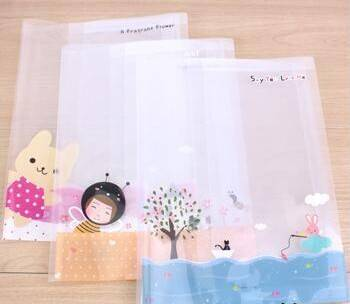 Hot sale colorful clear pvc book cover