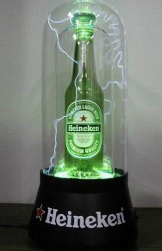 Wholesale best quality creative acrylic plasma bottle display glorifier
