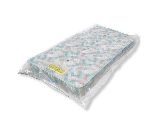 "California King Mattress Plastic Bags 3 Mil 82"" x 15"" x 100"" Gusseted"