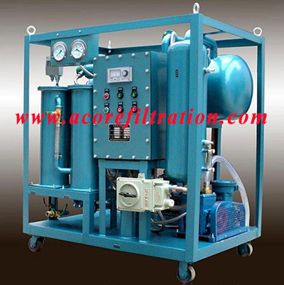 DVTP Online Vacuum Transformer Oil Purifier