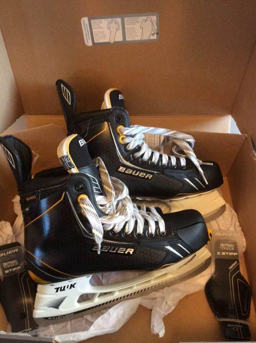 BAUER TOTAL ONE NXG SUPREME PRO HOCKEY SKATES