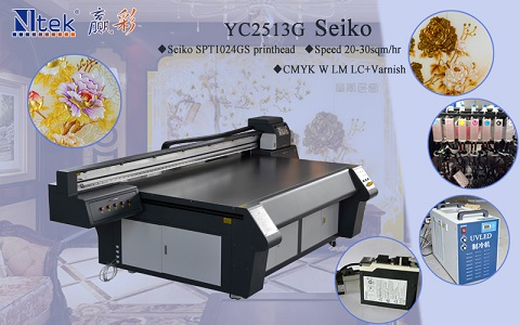 2017hot sale digital inkjet ceramic tile wall printing machine,uv flatbed printer with best price