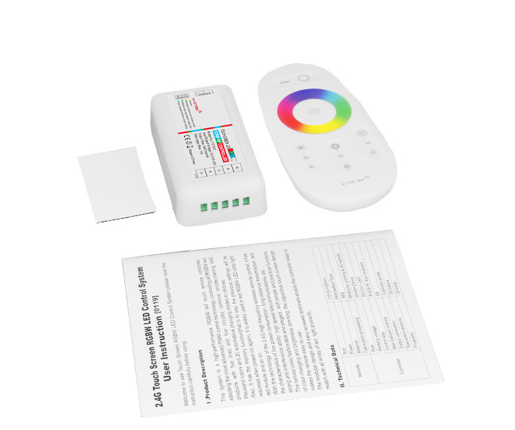 wireless rf remote controll 2.4G LED RGB Control System